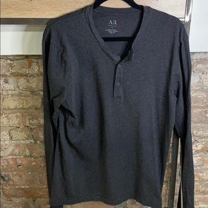 Large Armani Exchange Long Sleeve Tee